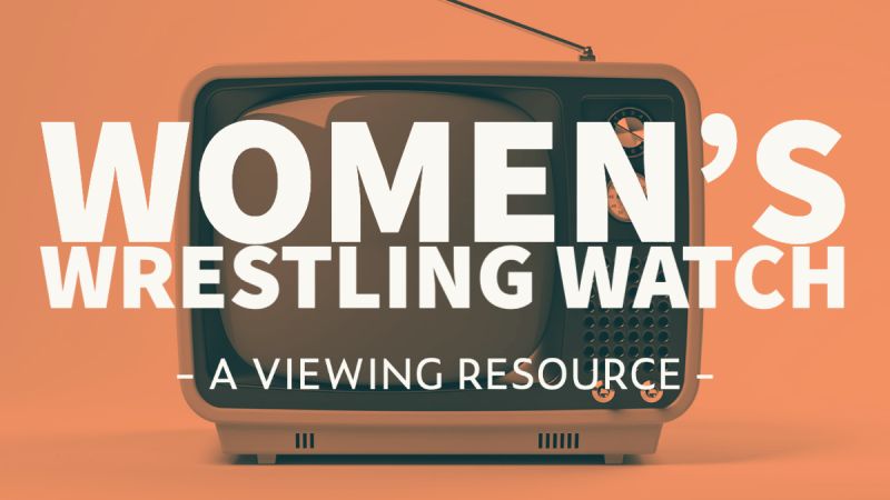 Women's Wrestling Watch: A Viewing Resource