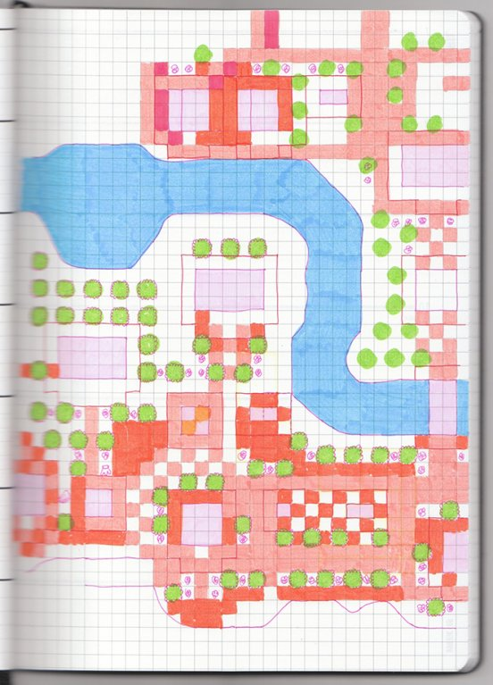 Acnl Town Map : Share, On-grid-paper-drawn, Animal, Crossing, Forums