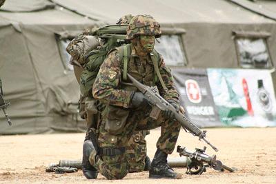 Szwajcarski żołnierz