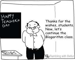 Bad Teacher Cartoon
