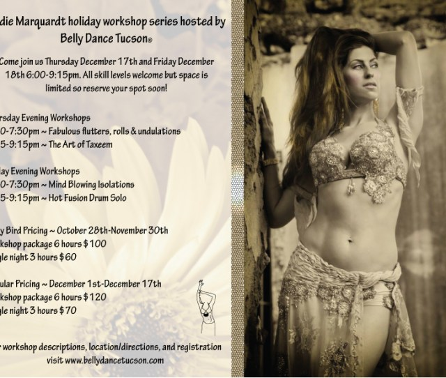 Sadie Workshops Hosted By Belly Dance Tucson