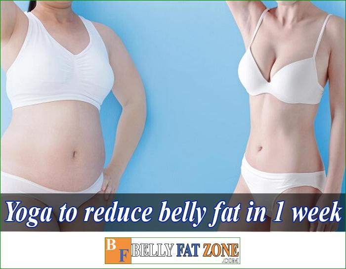 Yoga To Reduce Belly Fat in 1 Week