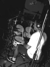 Chris, drum tracking, King recording sessions, Compass Point, Bahamas