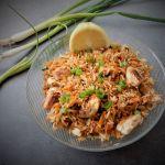 אורז ירקות דל בפודמאפ, Low FODMAP fried rice