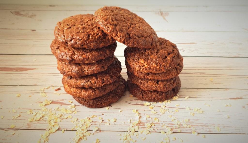 עוגיות חמאת בוטנים וקקאו דל בפודמאפ. Low FODMAP peanut butter chocolate cookies