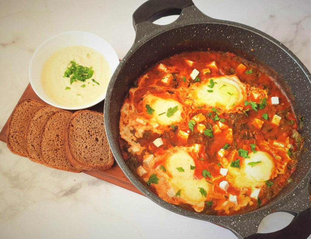 שקשוקה דלה בפודמאפ, Low FODMAP shakshuka