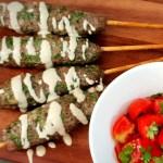 קבב דל בפודמאפ, Low FODMAP kebabs skewers