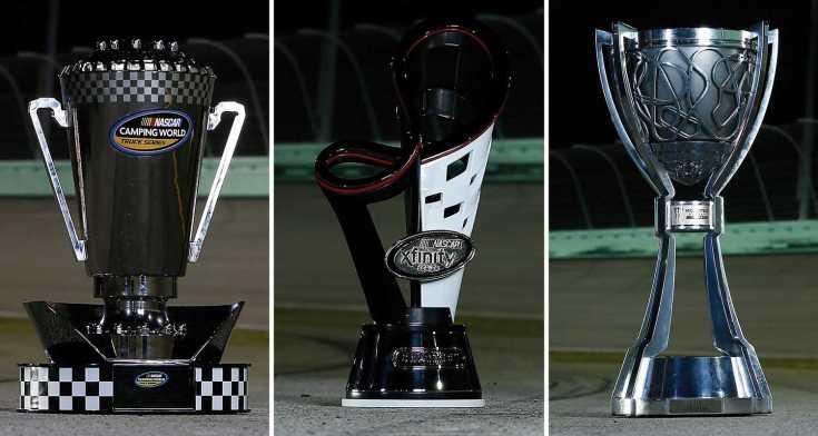 NASCAR series championships