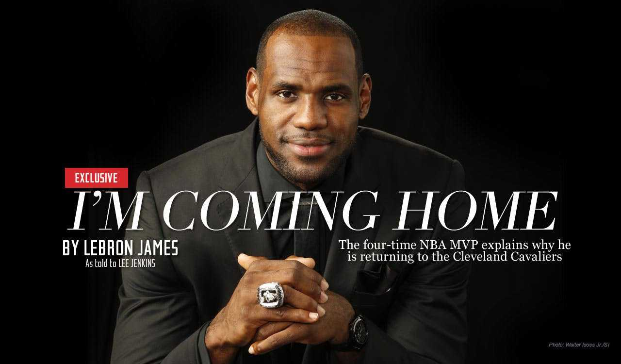 Lebrons coming home letter.
