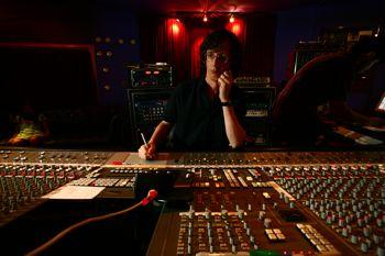 Chris at Electric Lady Studios