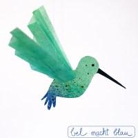 Kleiner Kolibri - Freebie mit Fotobastelanleitung