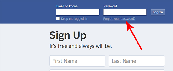 Forgot Facebook Password - How to Recover Forgot Facebook Account