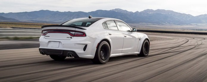 2021 Dodge Charger Trim Key Features with Performance