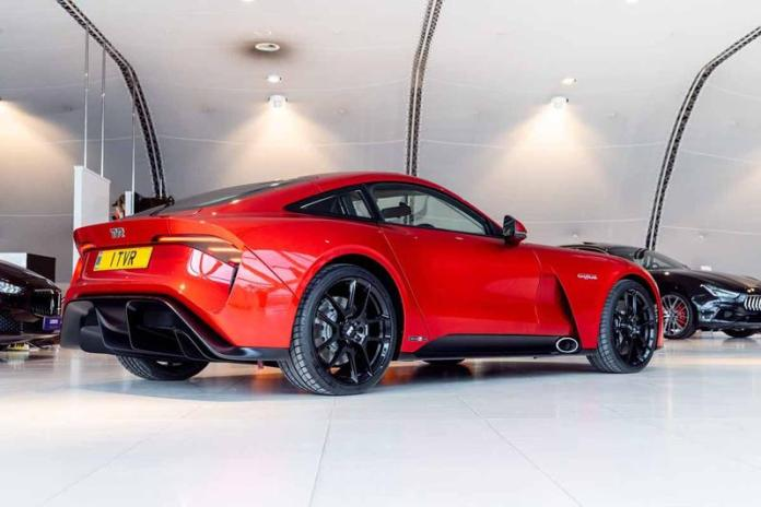 The 2022 TVR Griffith Classic Model