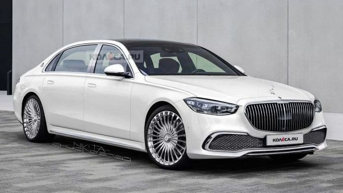The Luxurious 2022 Mercedes Maybach S-Class