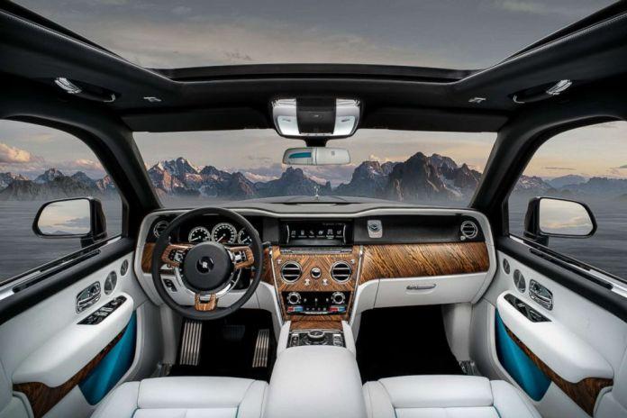 Cullinan Rolls Royce Truck