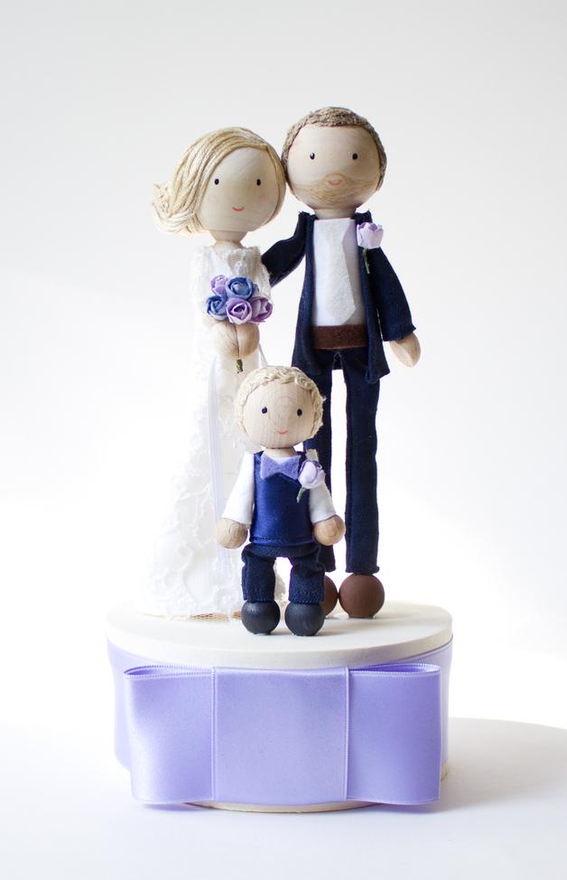 Figuren und Co fr die Hochzeitstorte  bl maryaj