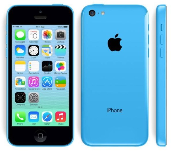 Refurbished Apple iPhone 5C 16GB Blauw Gebruikerssporen (3)