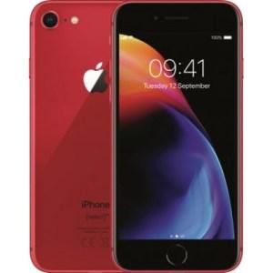 Apple iPhone 8 64GB Refurbished Grade A Red met abonnement van hollandsnieuwe