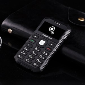 Melrose S2 Triple taalprogramma kaart mobiele telefoon stofdicht Shockproof veiligheidsmaterialen-bestendig 1 7 inch MTK6260DA 21 sleutels Blueto