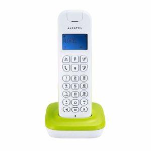 Alcatel DECT telefoon D185 WT/GN