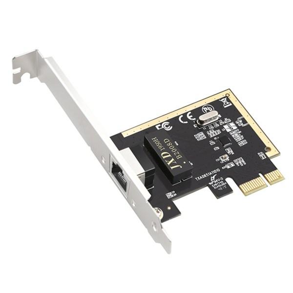 TXA065 Realtek 8111H 10/100 / 1000Mbps PCI-E Desktop Ethernet netwerk LAN-kaartadapter