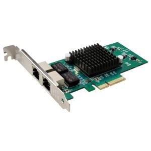 TXA030 RJ45 LAN Gigabit-netwerkkaart 10/100/1000 Mbps Intel 82576 PCIe 4X Server Mini-kaartadapter