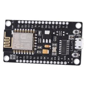 LandaTianrui LDTR-WG0131 ESP8266-serie WiFi-ontwikkelbord, compatibel met CH340 (zwart)