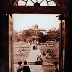 View of Mansion from Blanton Hall