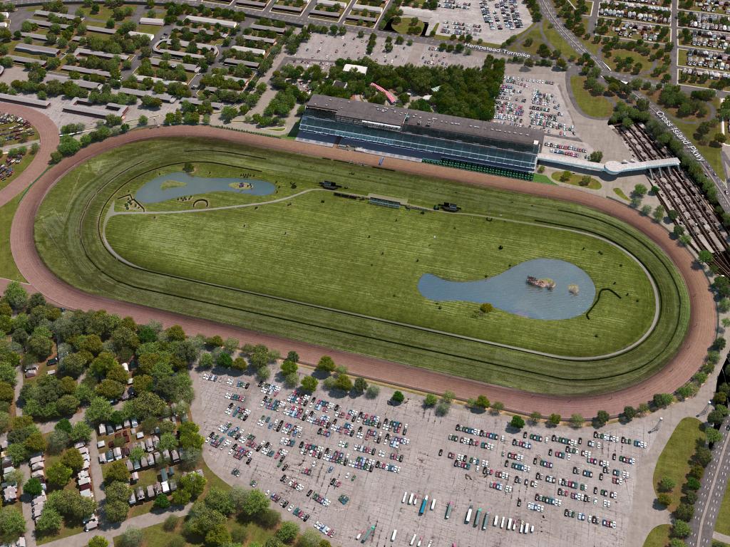 hight resolution of belmont park virtual venuetm