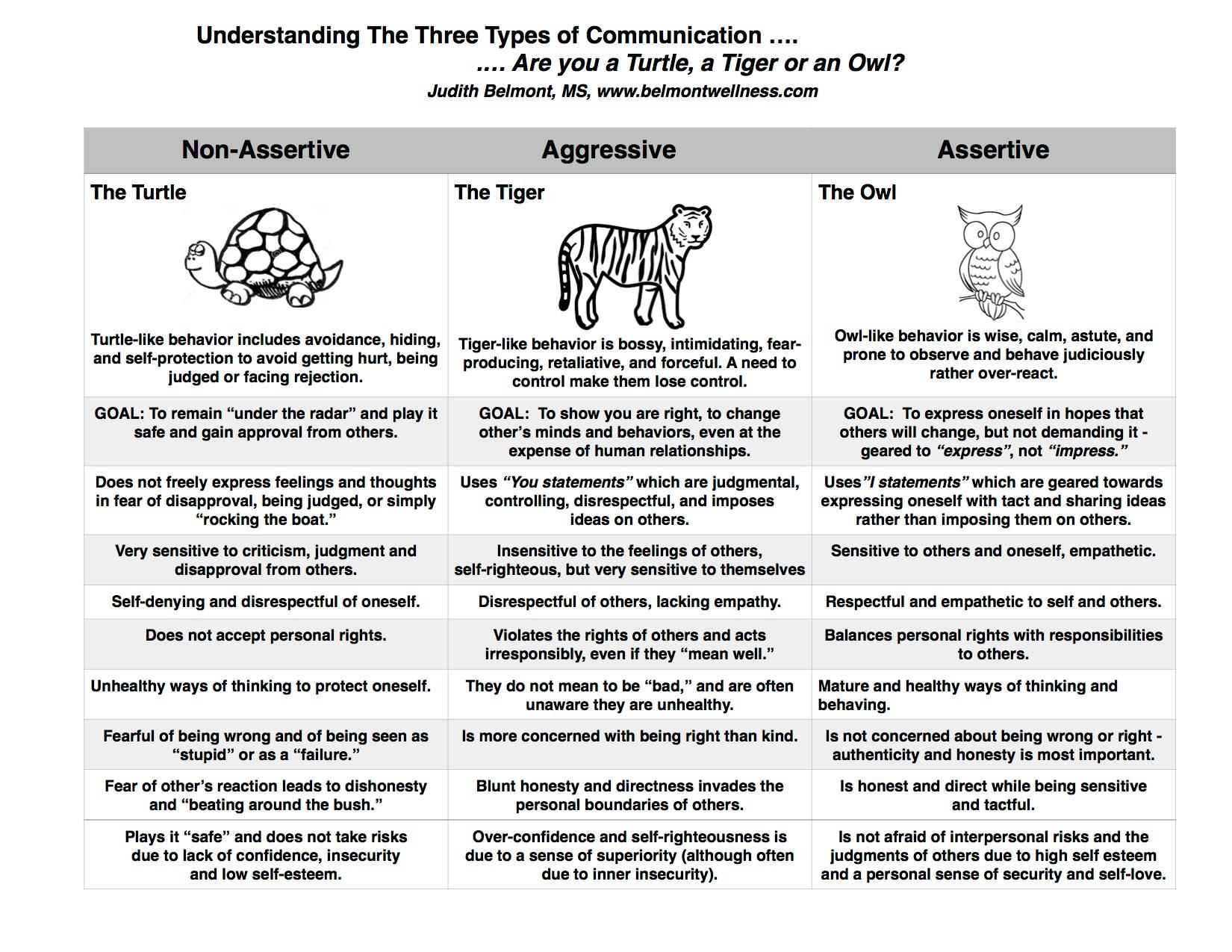 Understanding The Three Types Of Communciationbelmont Wellness