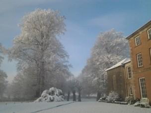 Belmount in the snow