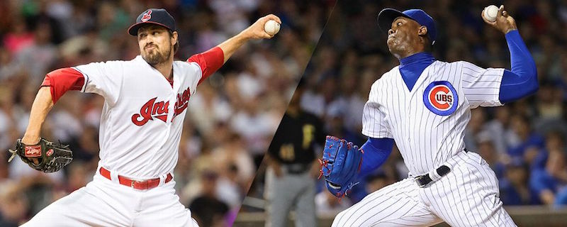 Andrew Miller and Aroldis Chapman could make or break their team's quest for a title.