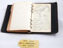 My grandfather's bird journal