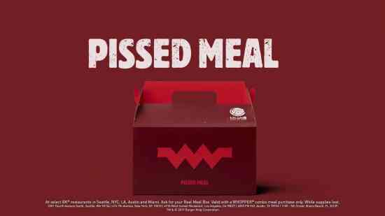 BK unhappy meals