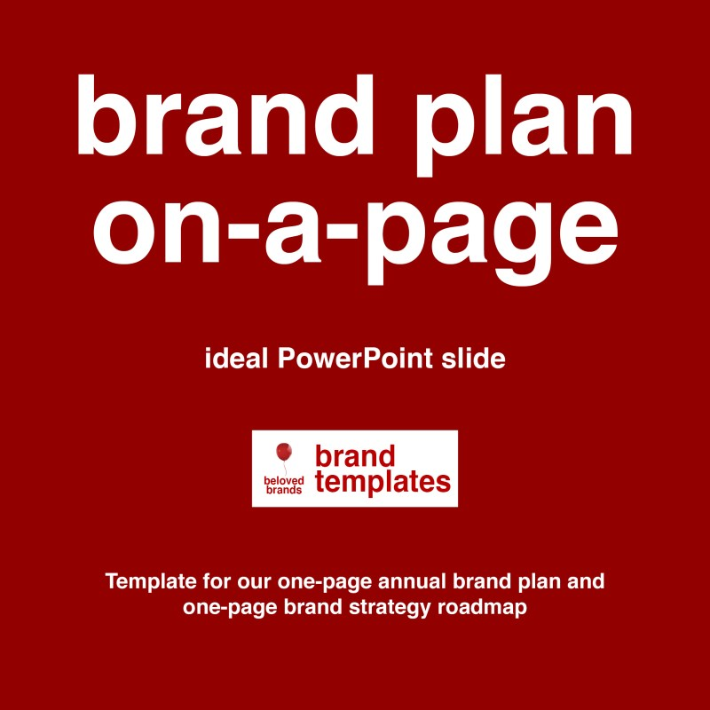 Plan on Page template