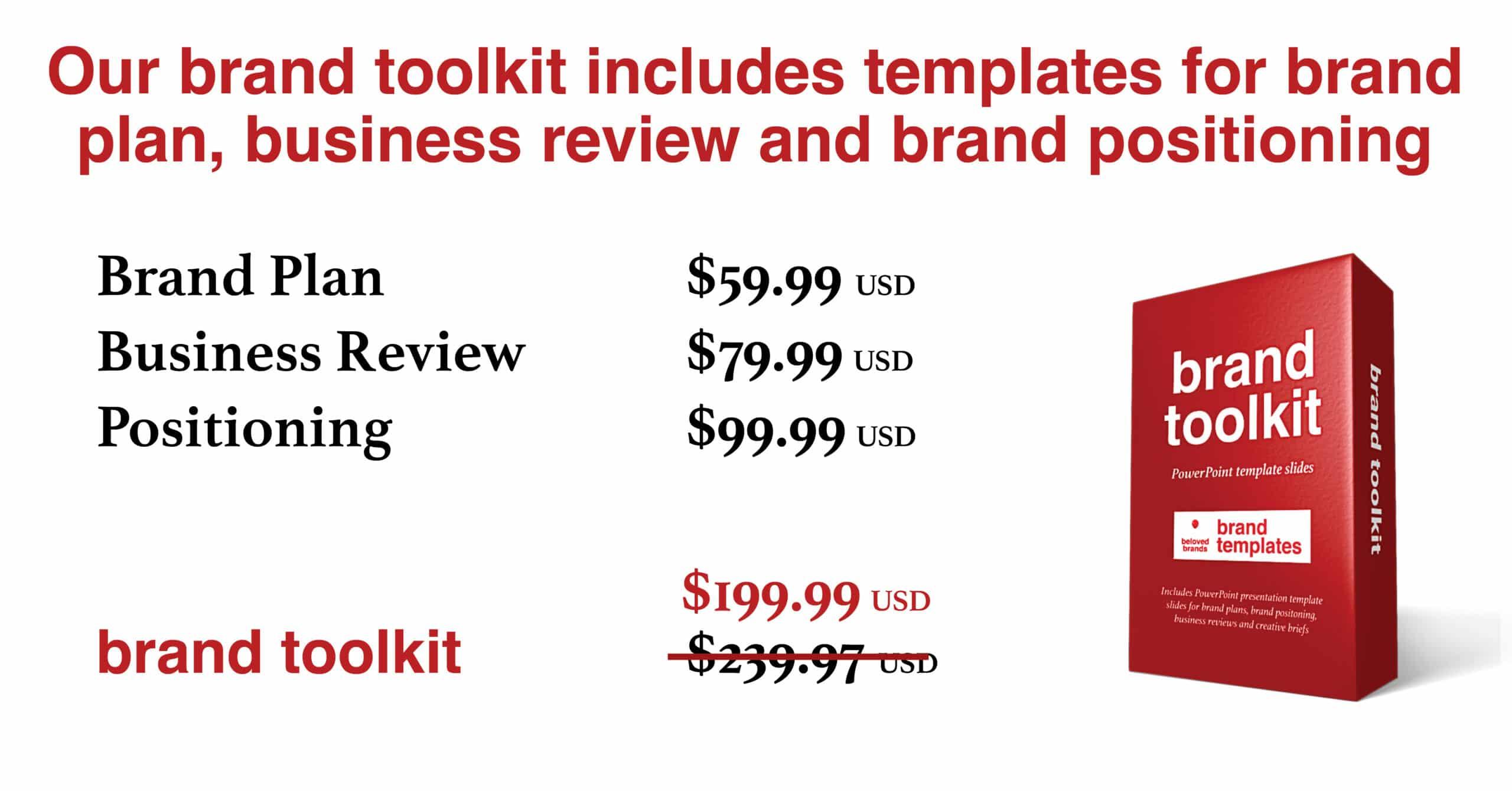 brand toolkit brand templates