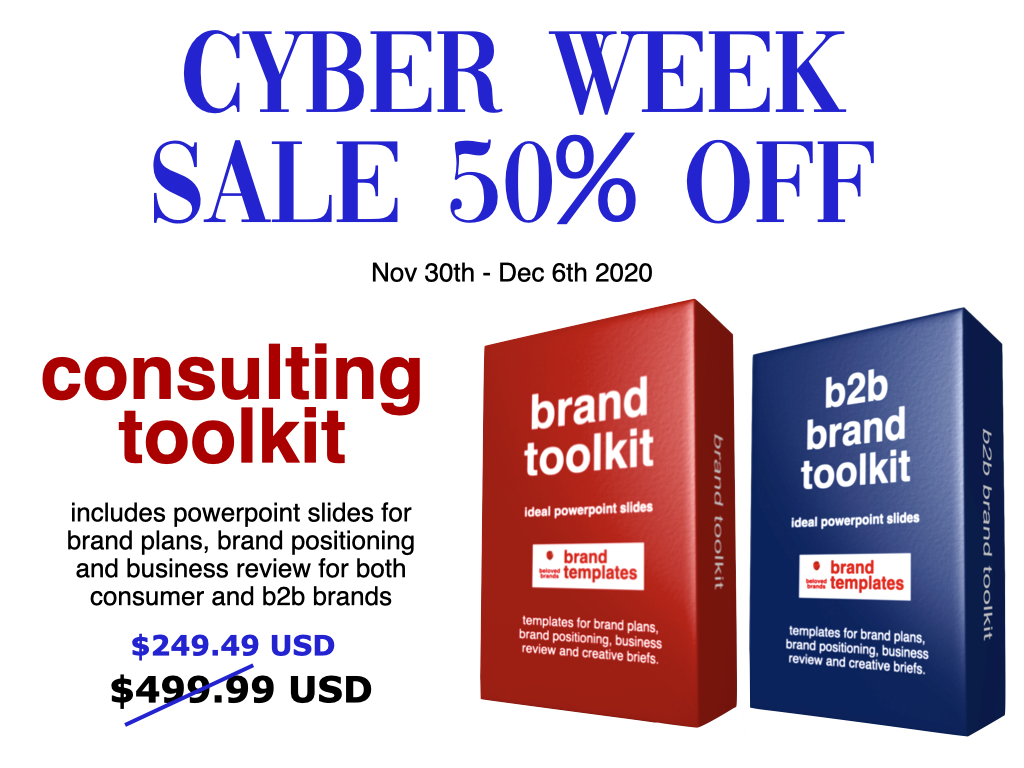 Cyber Week Template Sale