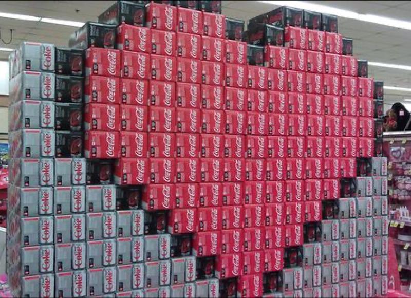 Coke Displays