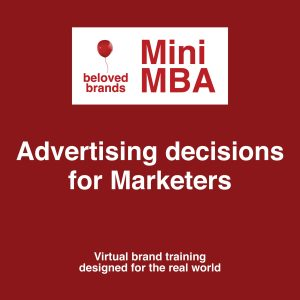 advertising decisions course