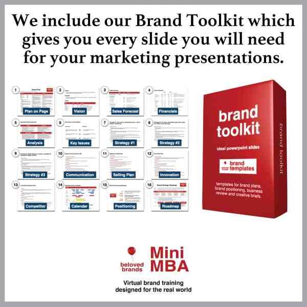 brand toolkit mini mba