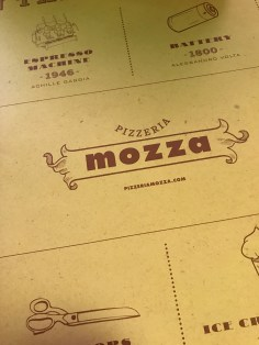 Pizzeria Mozza Menu