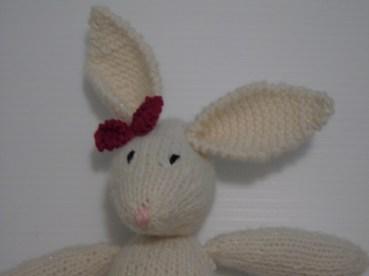 girl bunny's face