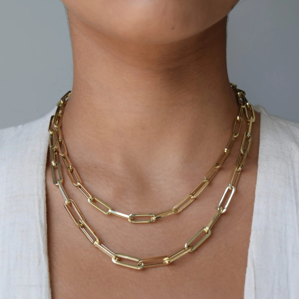 Medium Chain Link Necklace