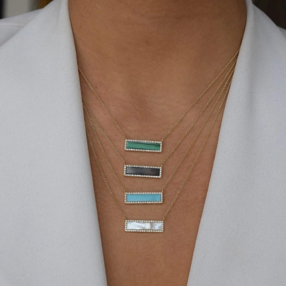 Diamond ID Necklace