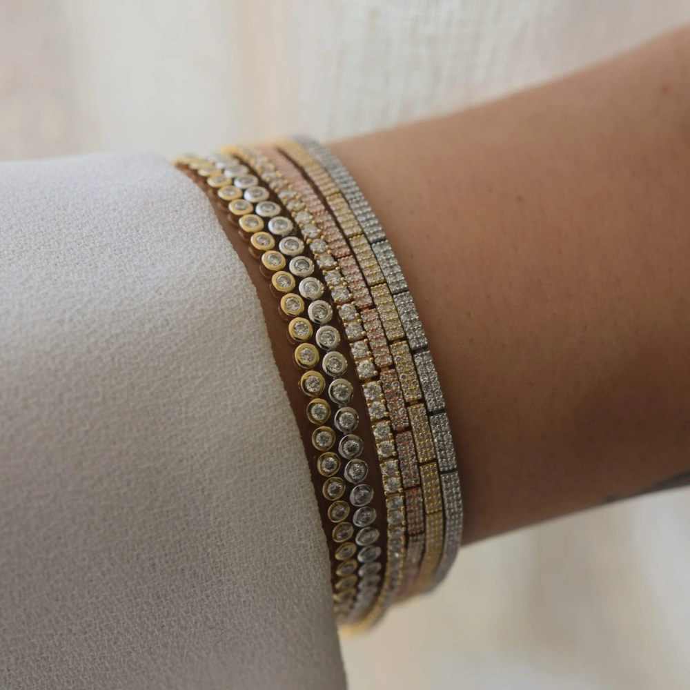 Diamond Link Tennis Bracelet