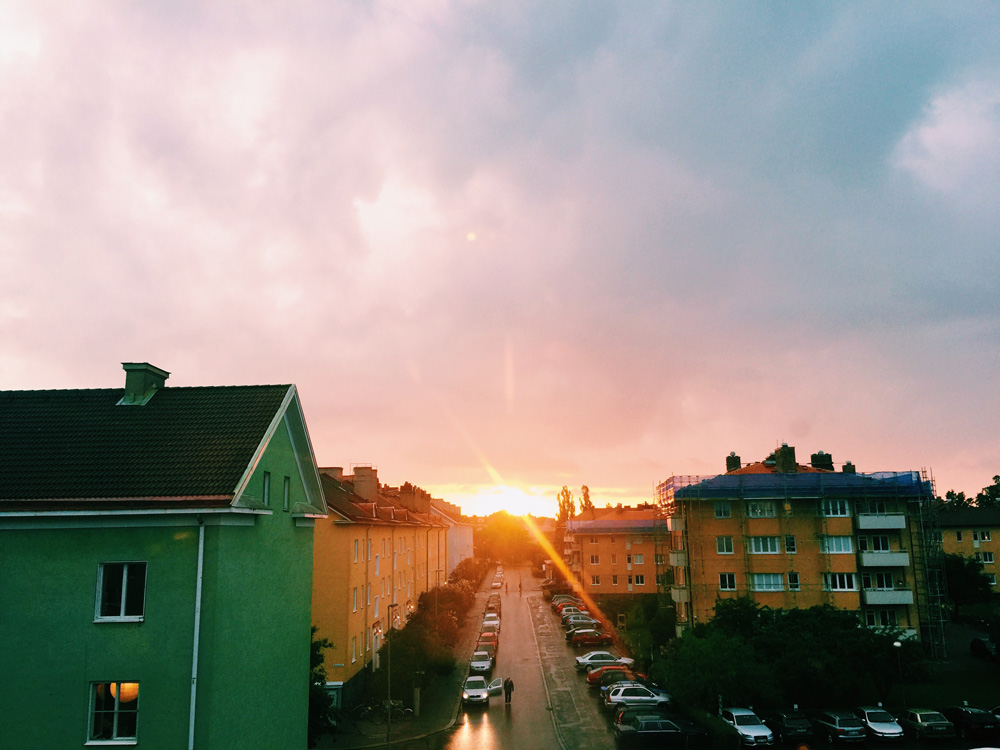 uppsala-sunset