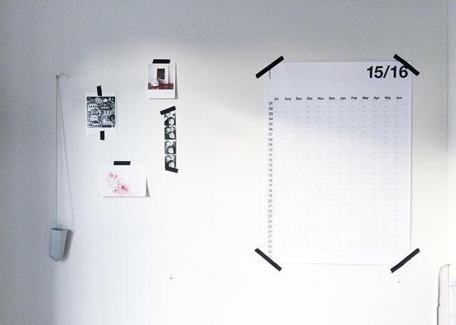 calendar home kitchen