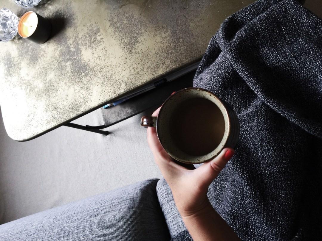 coffee morning sofa