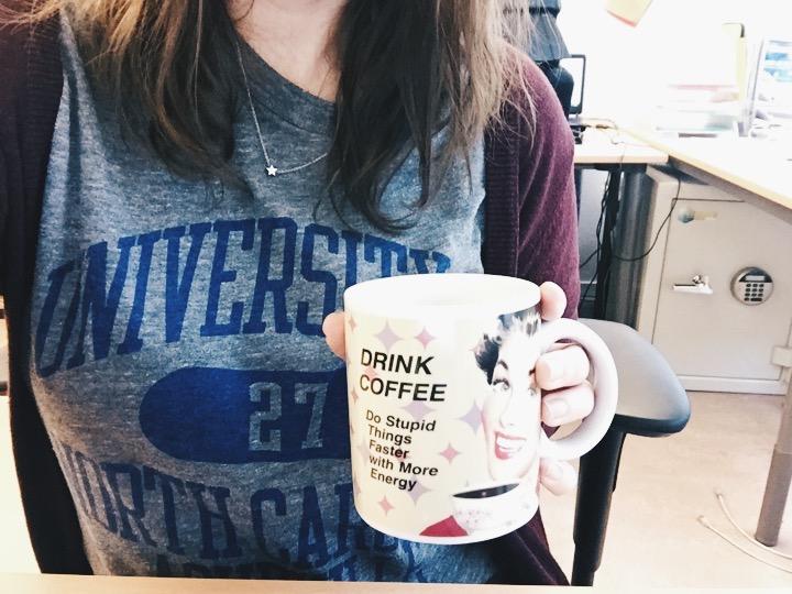 coffee me work